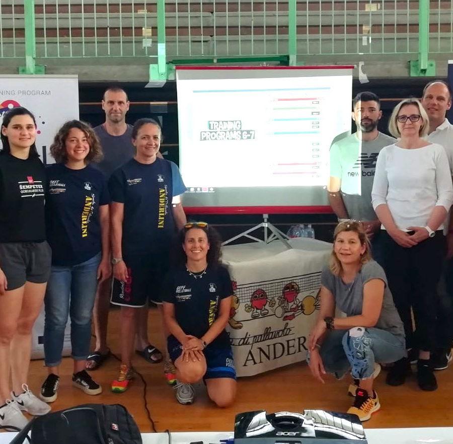 scuola pallavolo anderlini modena progetti europei funball