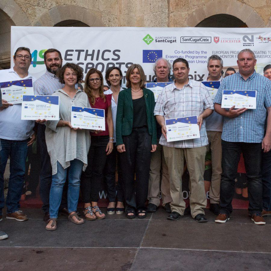 scuola pallavolo anderlini modena progetti europei ethics4sports santcugat
